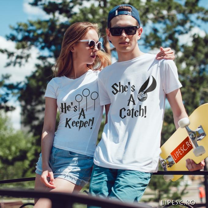 Set tricouri pentru indragostiti