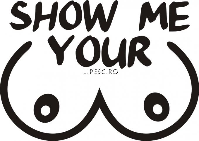 Sticker auto show me