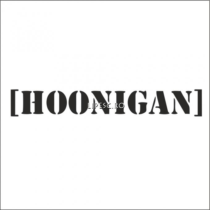 Sticker hoonigan