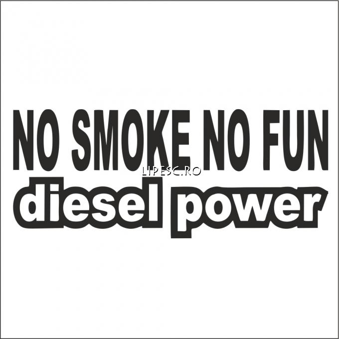 Sticker no smoke no fun