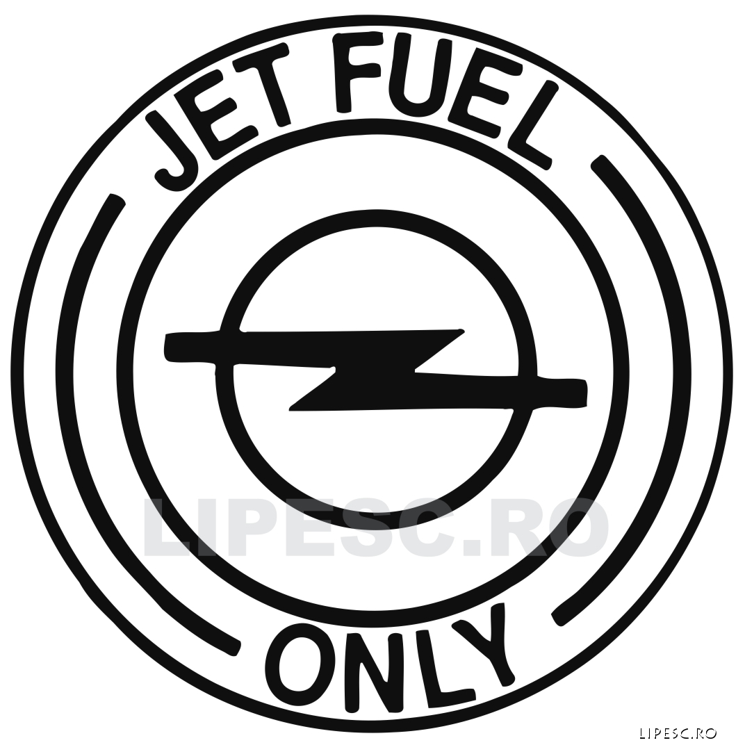 Sticker Auto Personalizat Opel