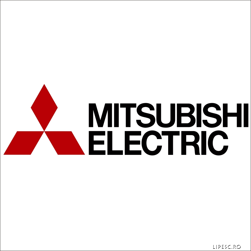 Sticker Mitsubishi ELECTRIC