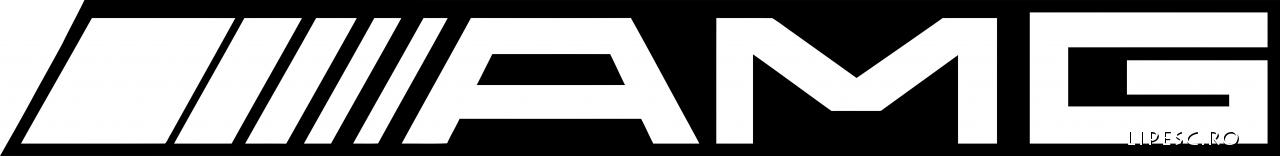 Sticker auto AMG