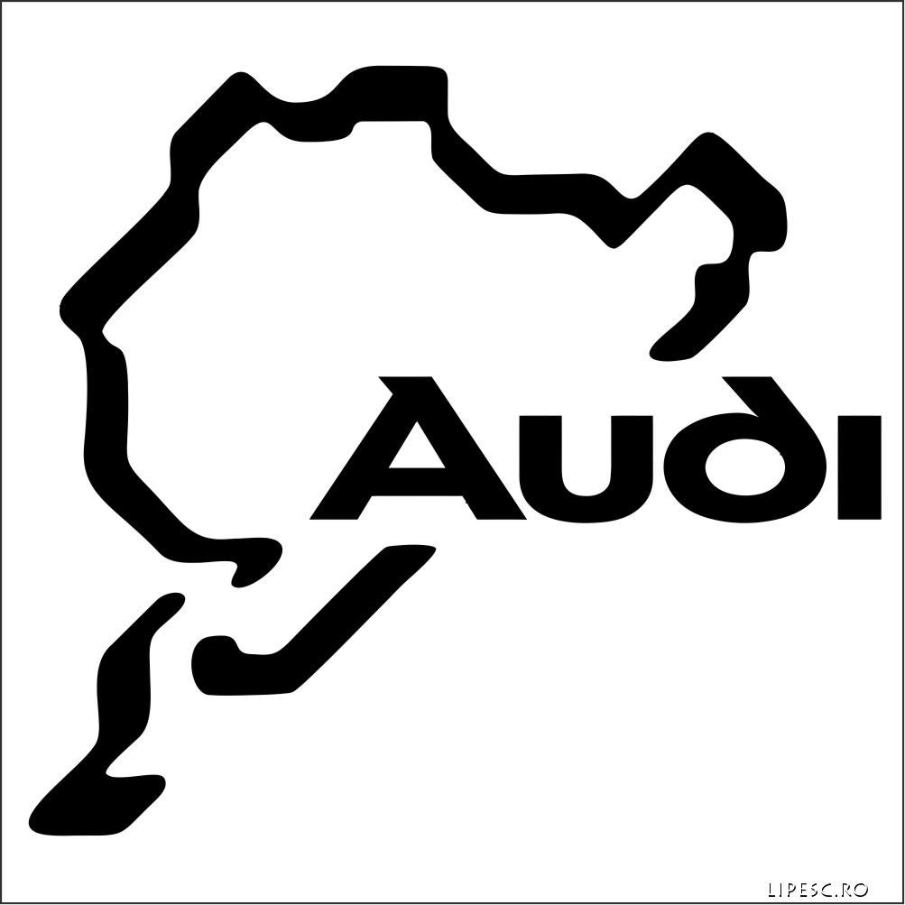 Sticker auto audi