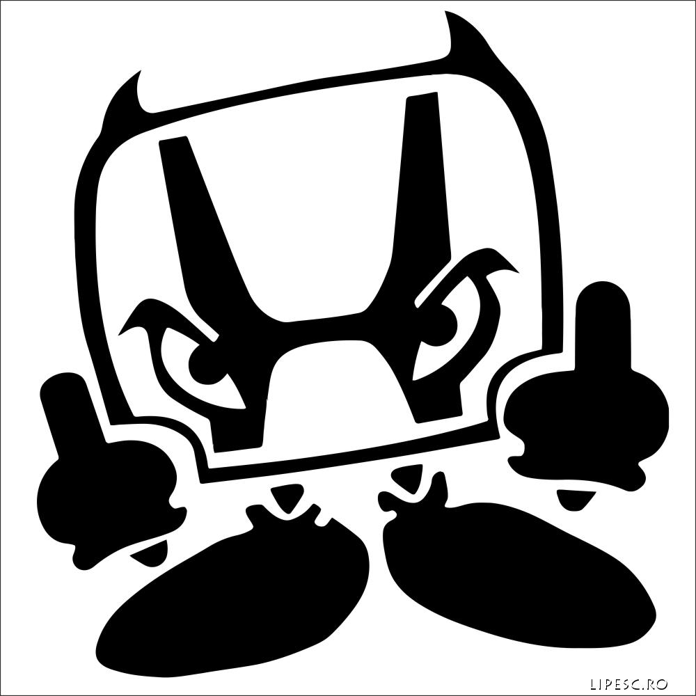 Sticker auto honda