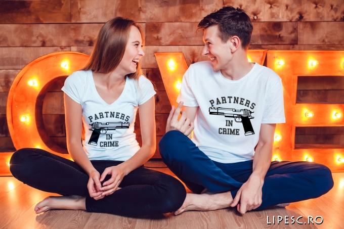 Tricouri cupluri personalizate funny