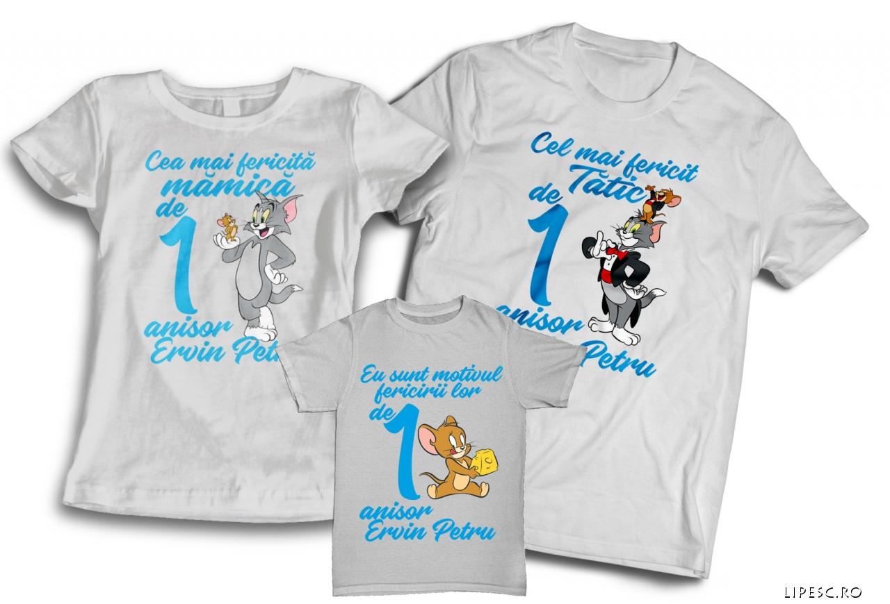 Tricouri aniversare copii
