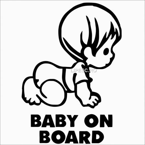 Sticker Baby on board