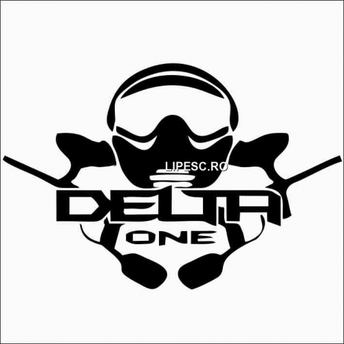 Sticker delta one