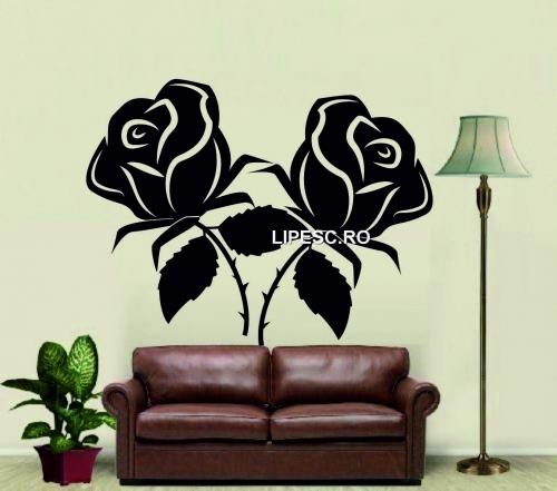 Sticker trandafiri