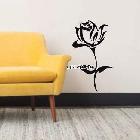 Sticker fir de trandafir