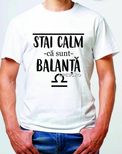 Tricou cu zodia Balanță