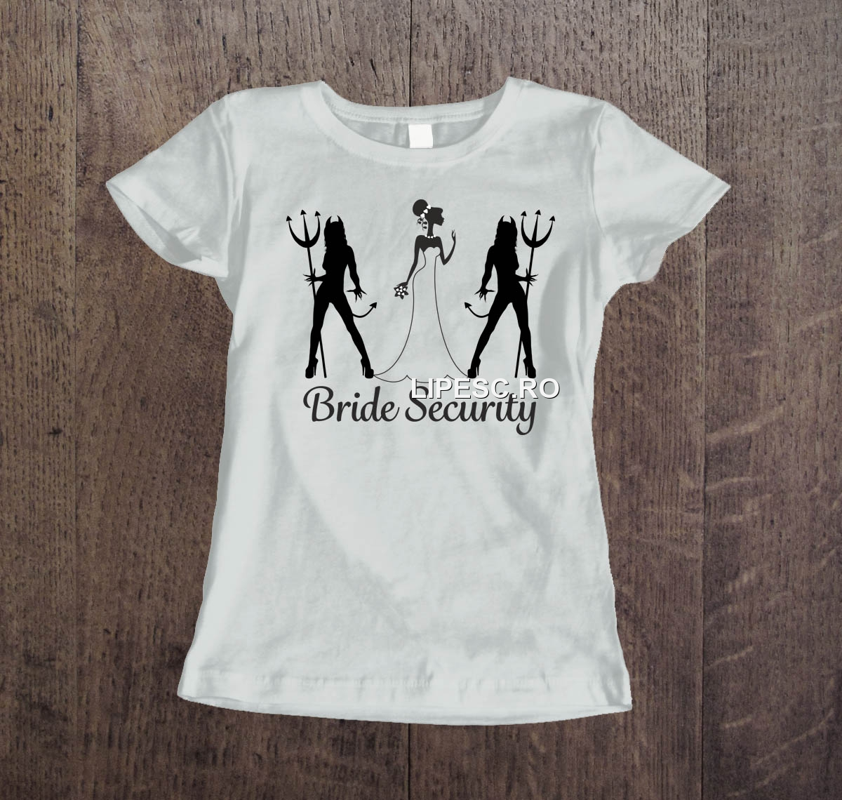 Tricou Bride security
