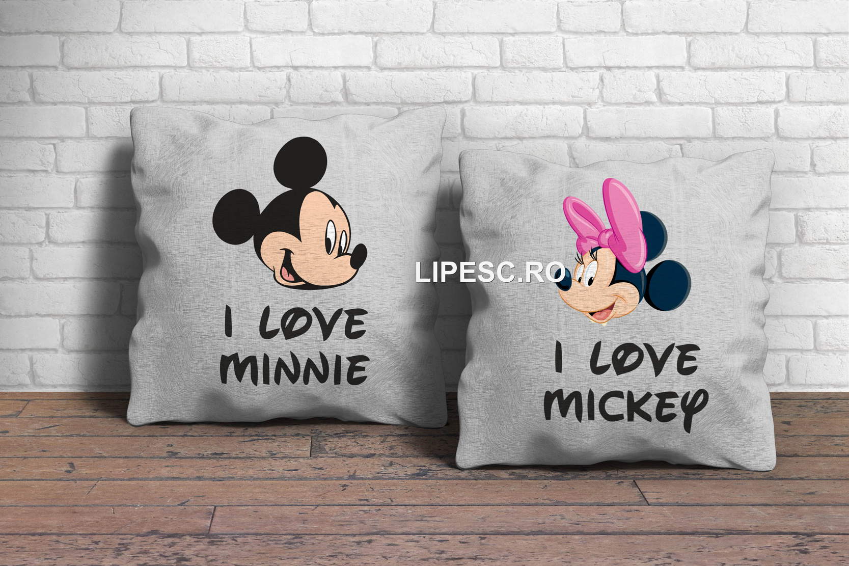 Perne Mickey and Minnie