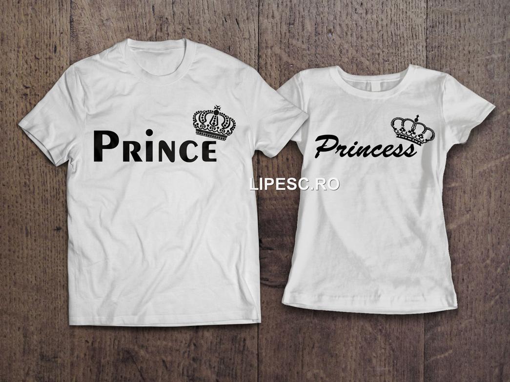 Tricouri de cuplu king si queen