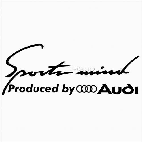 Sticker Audi sport-mind