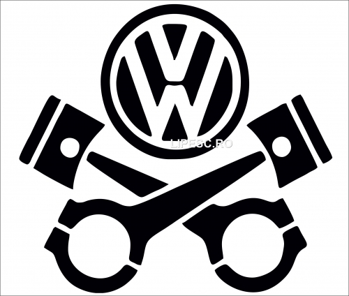 sticker pistoane vw