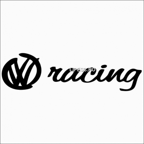 Sticker vw racing