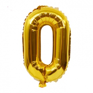 Balon cifra 0