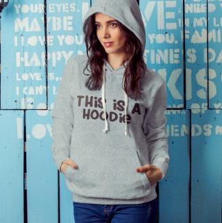 Hanorac this is a hoodie