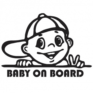 Semn Baby on board - Stickere auto