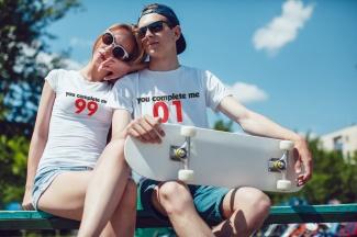 Set tricouri cupluri personalizate