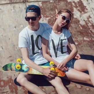 Set tricouri pentru cupluri LOVE