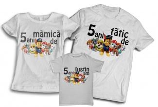 Set tricouri aniversare copii