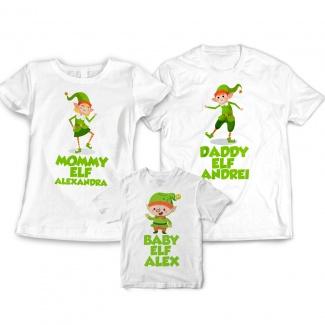 Set tricouri craciun personalizate
