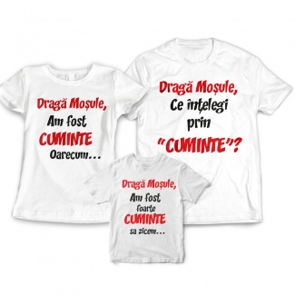 Set tricouri craciun