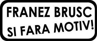 Sticker de atentionare funny
