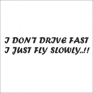 Sticker drive fast