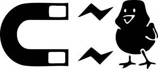 Sticker magnet de puicute