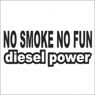Sticker no smoke no fun