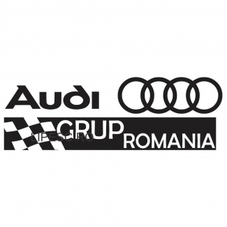 Sticker Audi Grup Romania