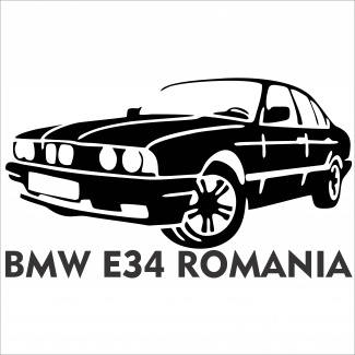 Sticker Bmw E34