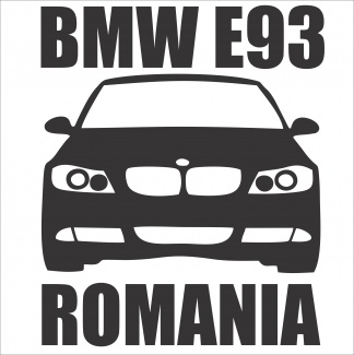 Sticker Bmw E93