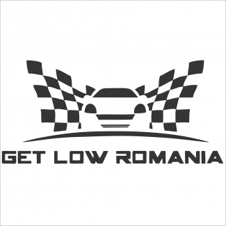 Sticker Get Low Romania