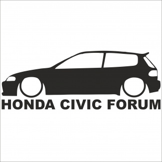 Sticker Honda Civic Forum