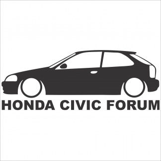 Sticker Honda Civic