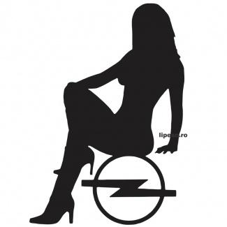 Sticker Ladies Opel