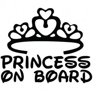 Sticker Princess on board