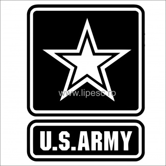 Sticker U.S ARMY