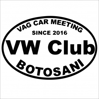 Sticker VW CLUB BOTOSANI