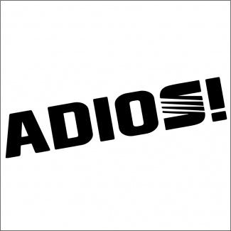 Sticker auto-ADIOS