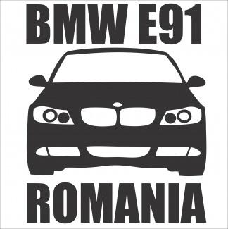Sticker auto E91