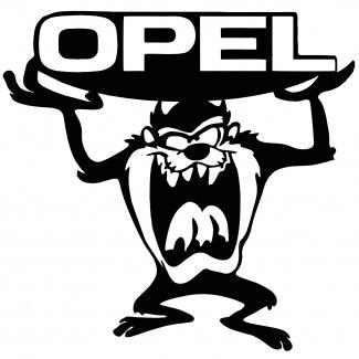 Sticker auto Tasmanian Opel