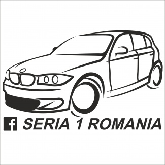 Sticker bmw seria 1