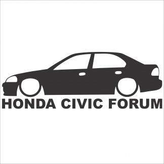Stickere Honda Civic