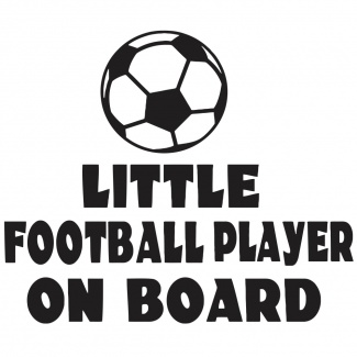 Stickere little player on board
